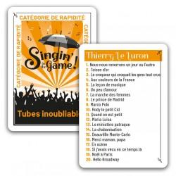 "Carte promo ""Thierry Le Luron"""