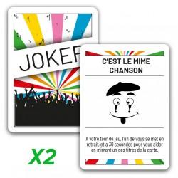 """2x jokers promo """"C'est le..."""