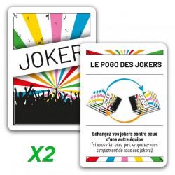 """2x jokers """"Le pogo des jokers"""""""