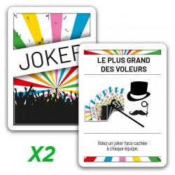"2x jokers promo ""Le plus..."